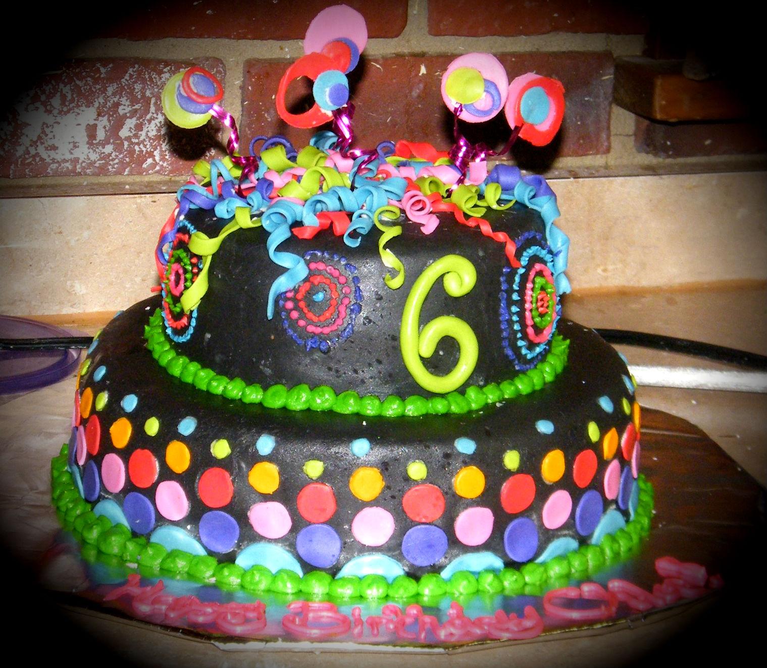 Year Birthday Cake Design